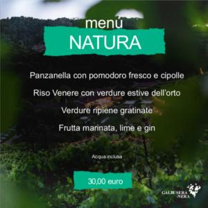 menu natura luglio