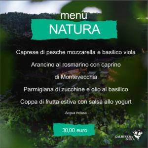 menu natura agosto