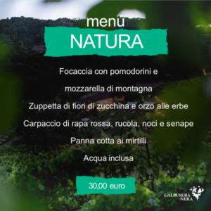 menu natura settembre